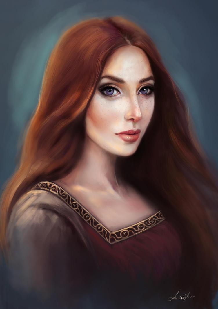 Portrait Practice by SLefor