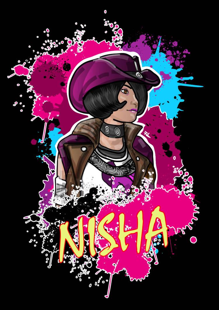 Nisha (Borderlands The Pre-Sequel) by Fdnicholas on DeviantArt