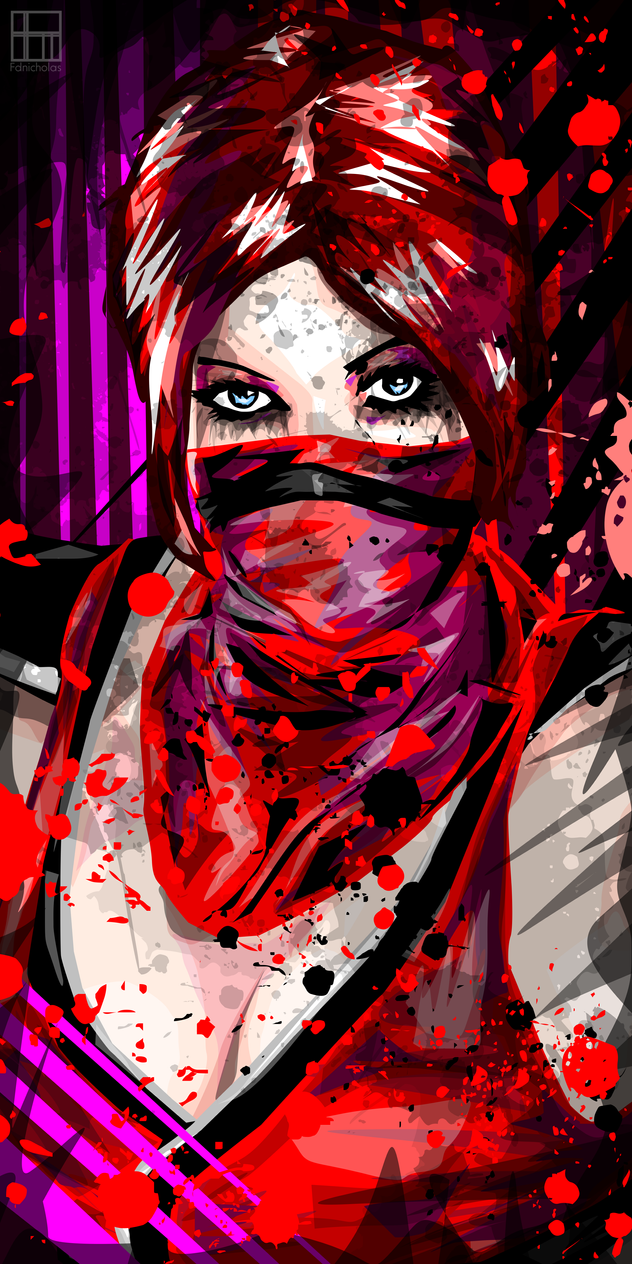 Skarlet (Mortal Kombat) by Fdnicholas