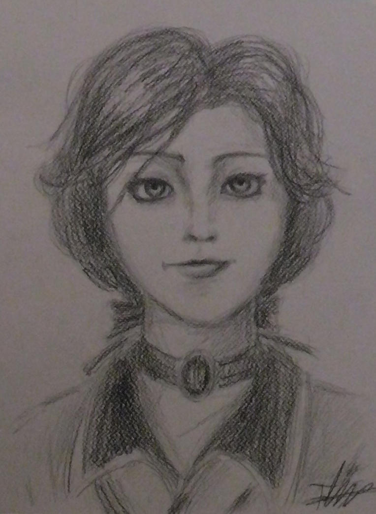 Portrait of Elizabeth (Bioshock Infinite) by Fdnicholas
