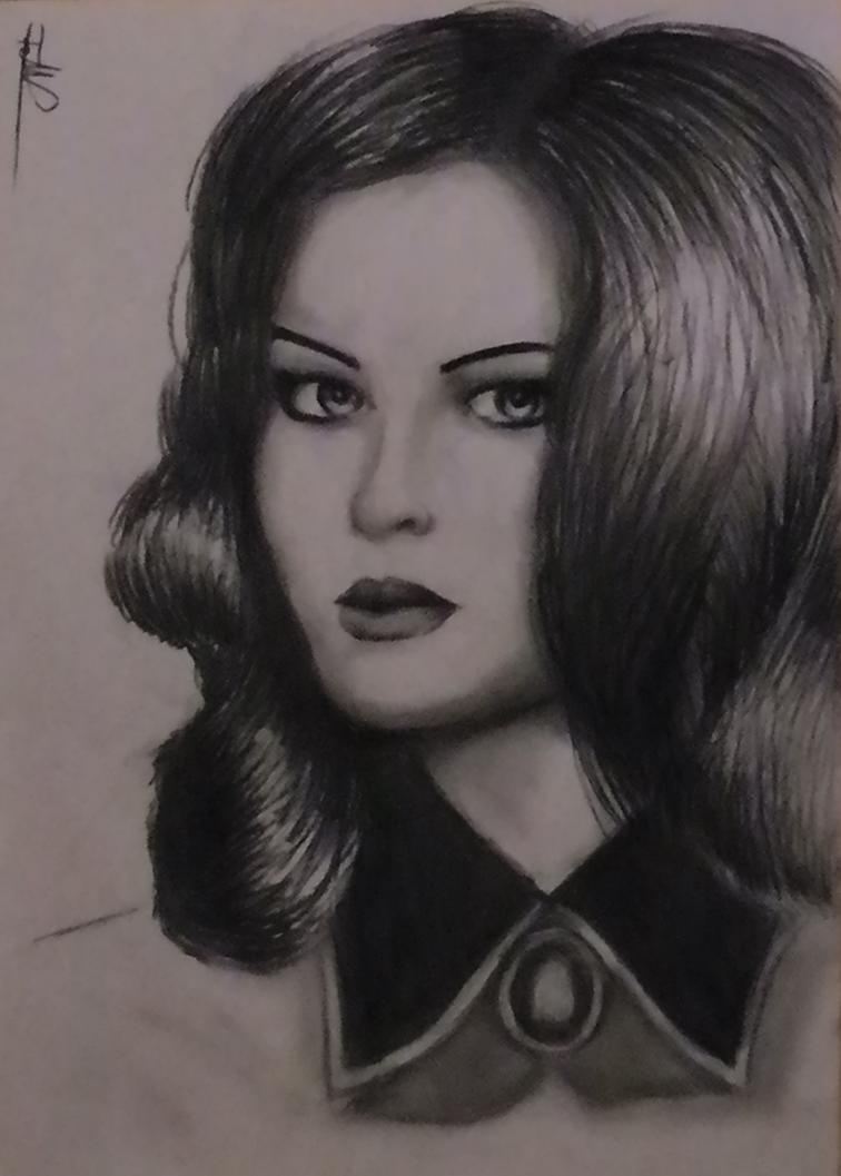 Sladkoslava as Elizabeth  (Bioshock Infinite DLC) by Fdnicholas