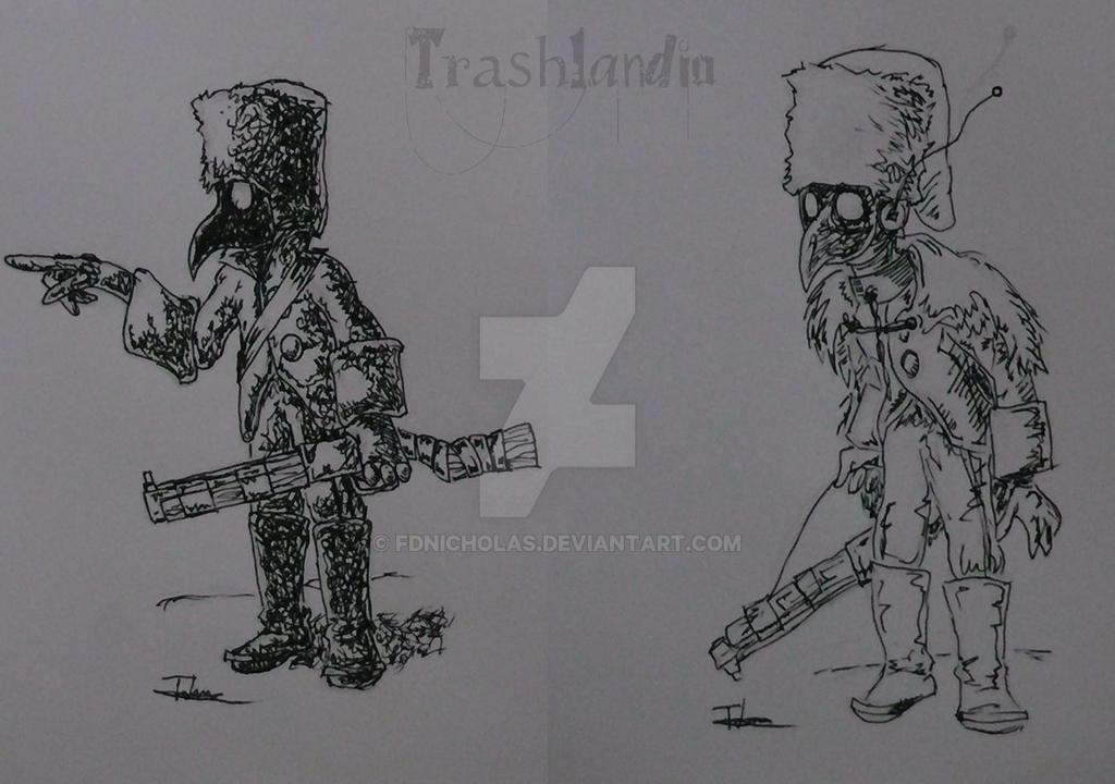 Brainwashed Soldier (Trashlandia) by Fdnicholas