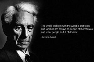 Bertrand Russell by strangemask