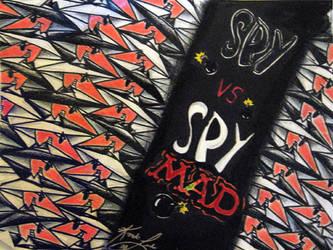 Spy vs. Spy Tess by ViolistofHameln
