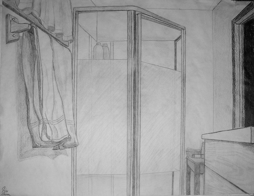 Bathroom Drawing