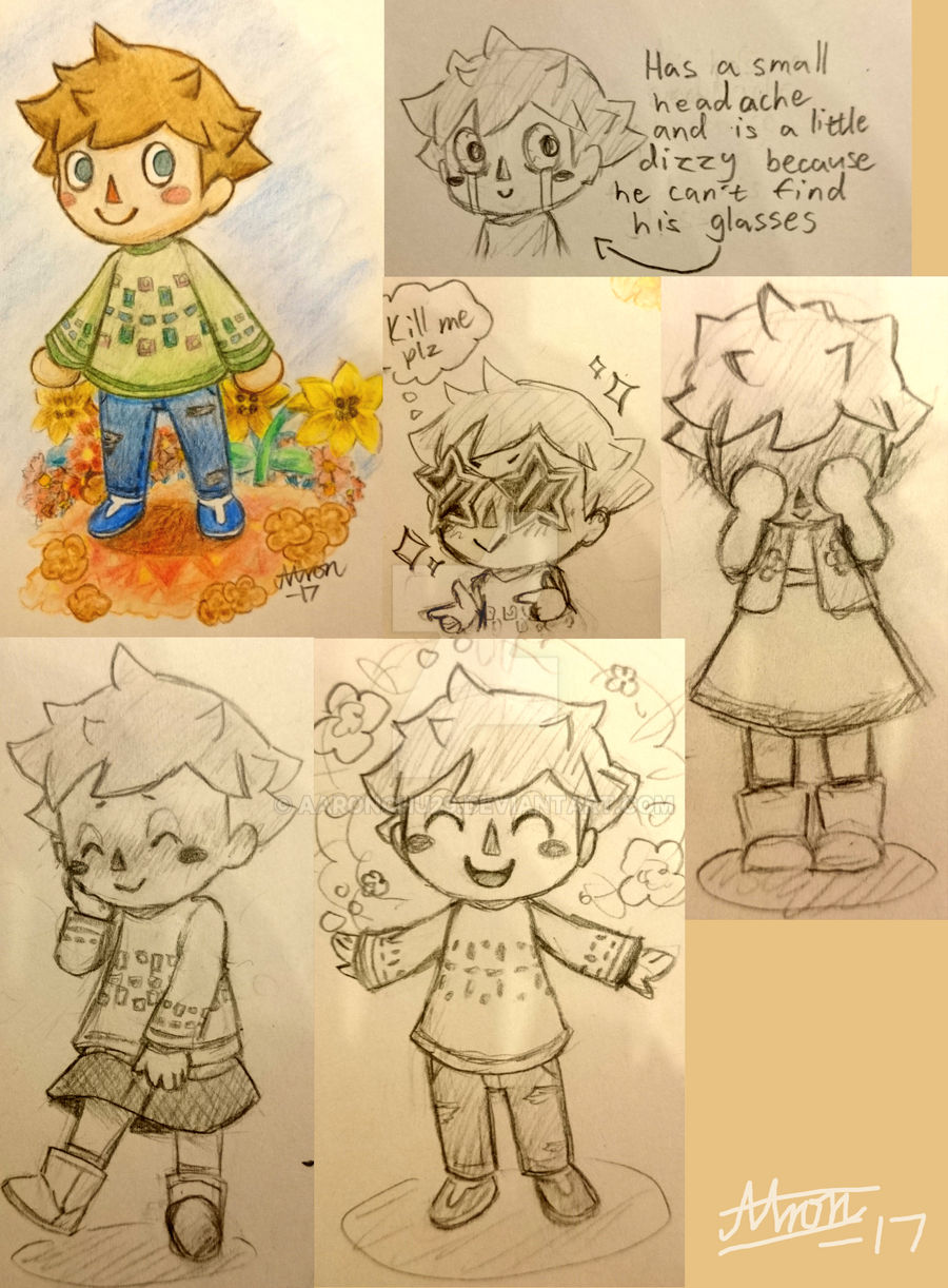Aaron The Villager Animal Crossing Pocket Camp By Aaronchu29 On