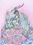 Crystal Rose Dragon