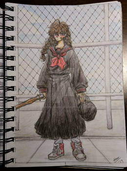 Delinquent girl / Lone Wolf Sukeban