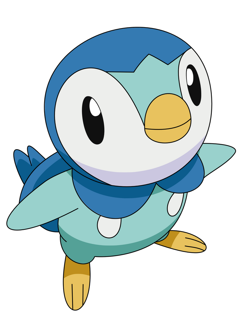 download pokemon starters piplup - photo #11