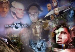 Babylon 5 Collage by Arcbound