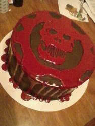 Crimson Omen CAKE by MysticAcademy