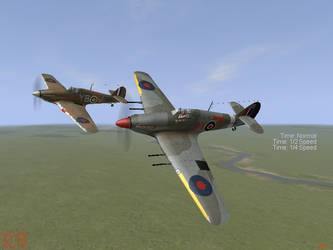 IL-2 - BBMF Hurricanes by TopGunSGA