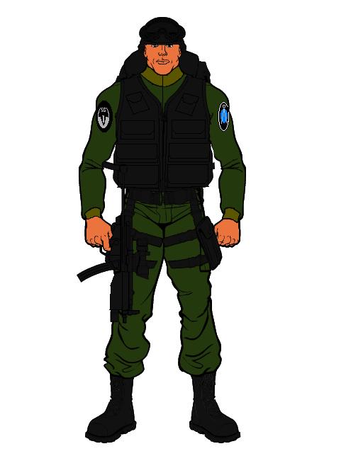 SG-1 Off-World uniform by TopGunSGA
