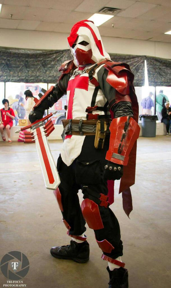 Azrael - Batman Arkham Knight by ibluecosplay ... & Azrael - Batman Arkham Knight by ibluecosplay on DeviantArt