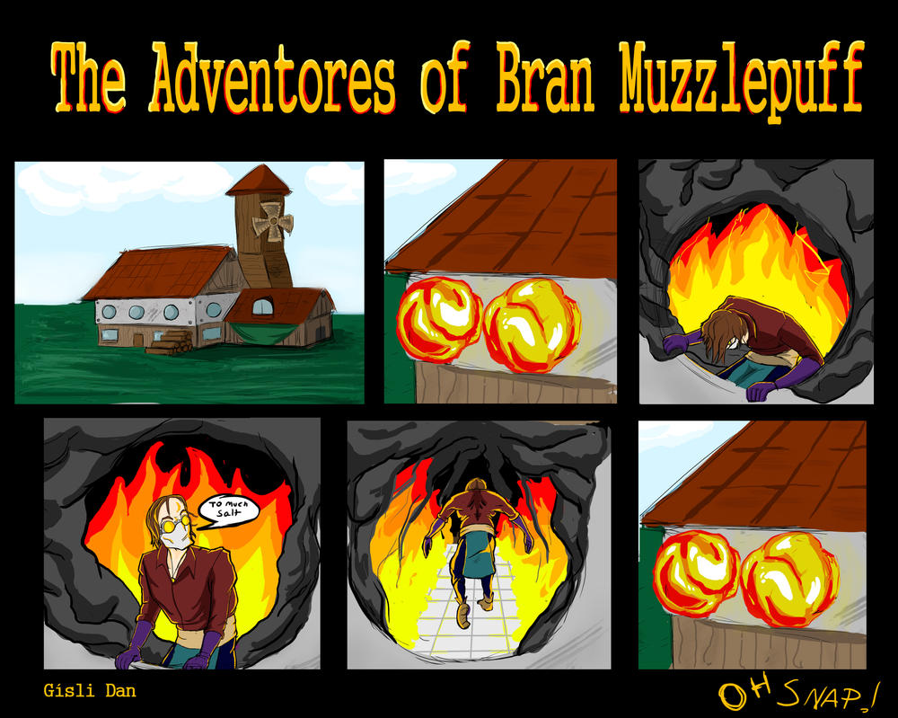 The adventures of Bran Muzzlepuff  page 1 by MrMatsui