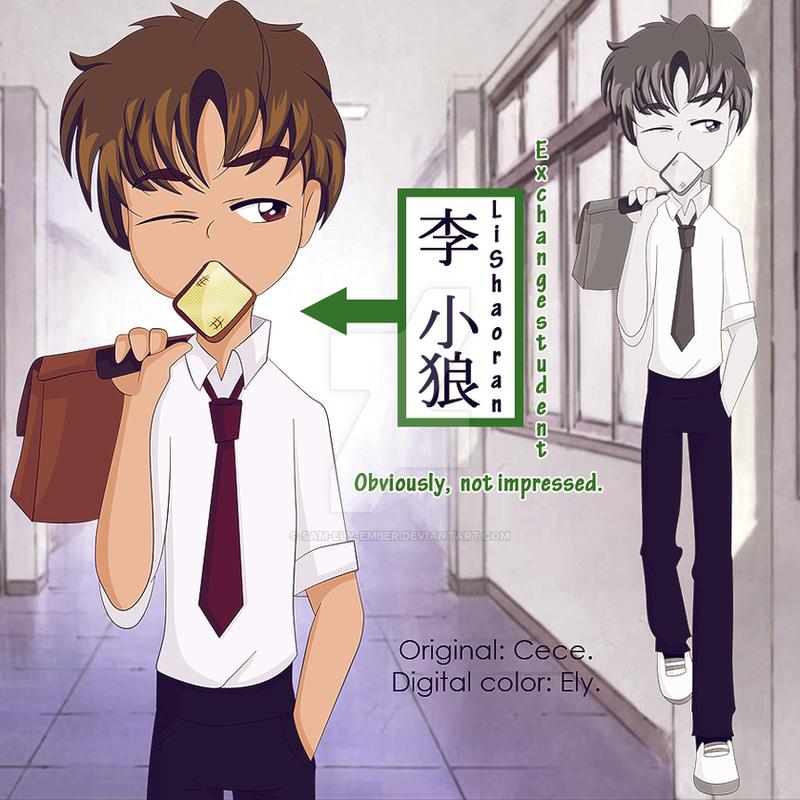 KKH - Le exchange student by sam-ely-ember