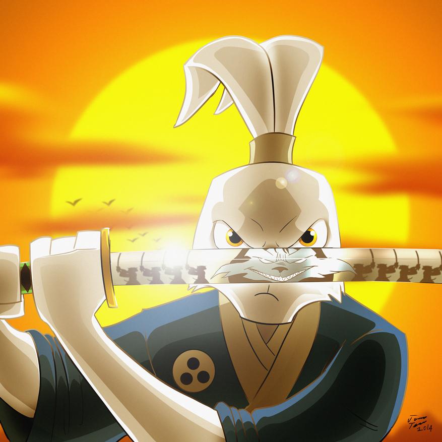 Usagi Yojimbo by jonathanserrot