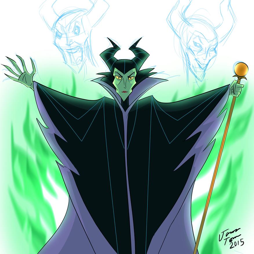 Maleficent by jonathanserrot