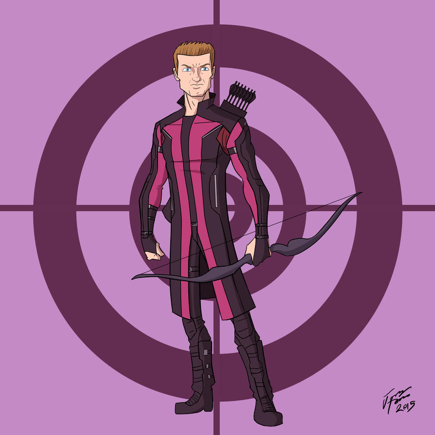 Hawkeye (also commissions are open!) by jonathanserrot
