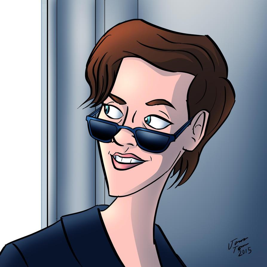 Kristen Stewart by jonathanserrot