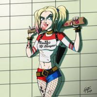 Harley Quinn from Suicide Squad by jonathanserrot