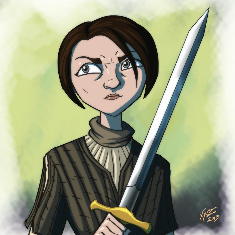 Arya Stark by jonathanserrot