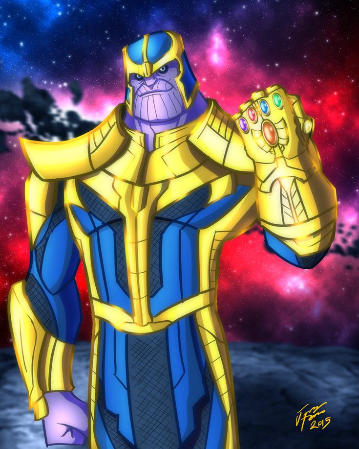 Thanos, The Mad Titan by jonathanserrot