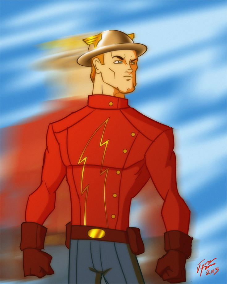jay garrick flash coloring pages - photo#39
