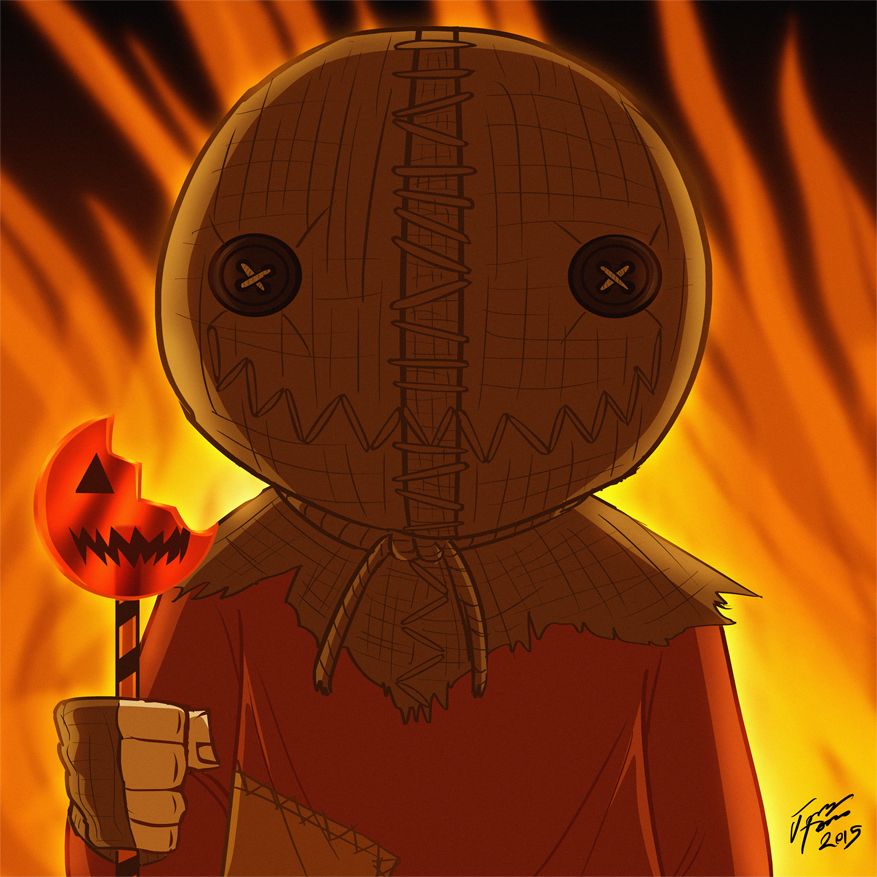 Sam from Trick 'r Treat by jonathanserrot