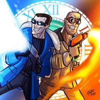 Legends Of Tomorrow: Captain Cold and Heatwave by jonathanserrot