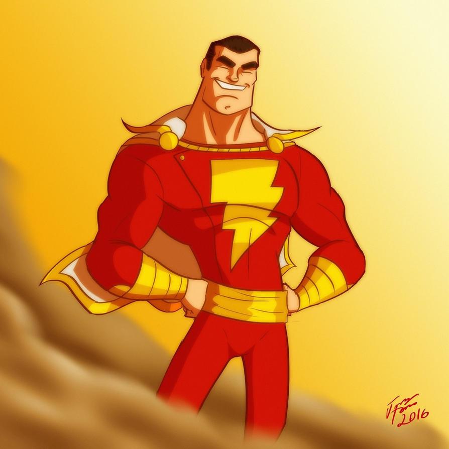 Captain Marvel (Shazam!) by jonathanserrot