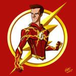 The Flash Season 4 suit