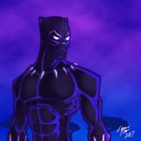Black Panther by jonathanserrot