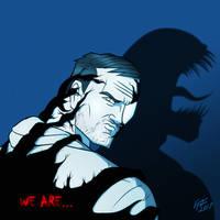 Tom Hardy's Venom by jonathanserrot