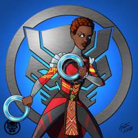 Black Panther: Nakia by jonathanserrot