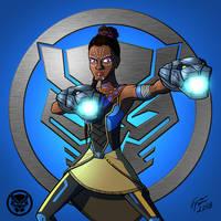 Black Panther: Shuri by jonathanserrot