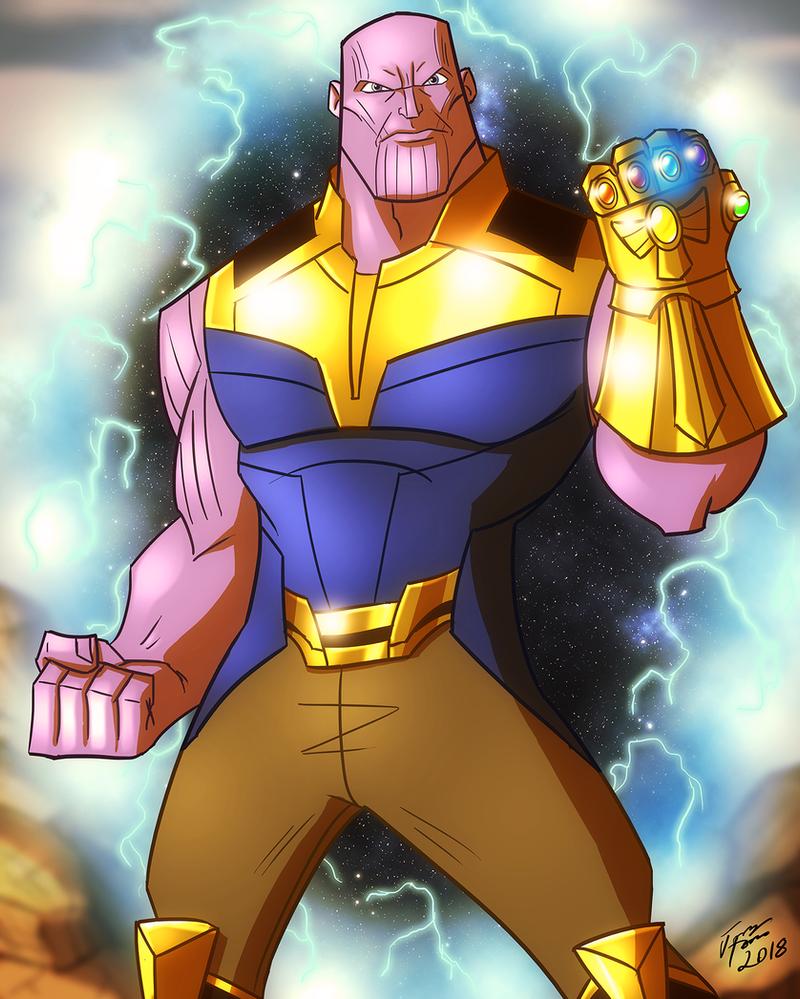 Thanos by jonathanserrot