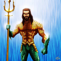 Aquaman by jonathanserrot