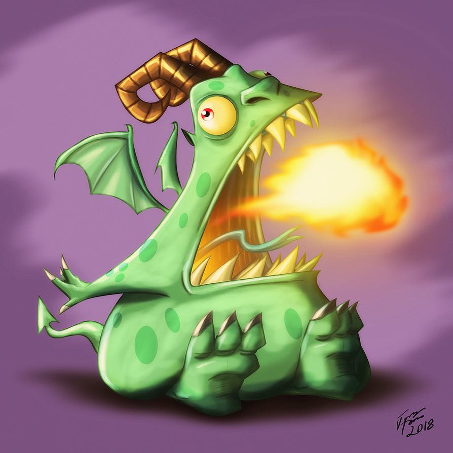 Lil Demon by jonathanserrot