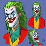Joaquin Phoenix Joker Doodles