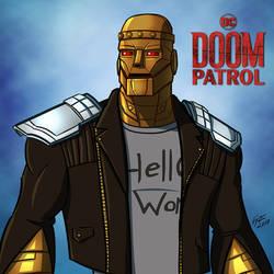 DOOM PATROL: Robotman by jonathanserrot