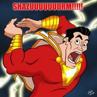 No one DERPS like SHAZAM! by jonathanserrot