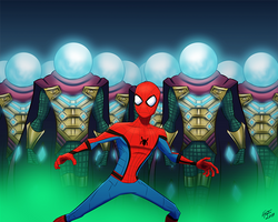 Mysterio Illusion Battle Sequence
