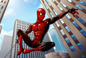 Spider-Man Far From Home - Big Swing