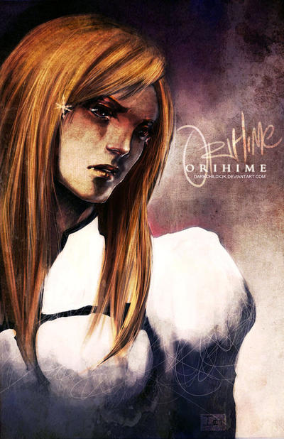 BLEACH-- ORIHIME by DarkChildx2k