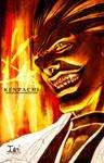 BLEACH-- KENPACHI by DarkChildx2k