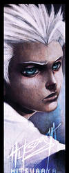 BLEACH-- HITSUGAYA BOOKMARK by DarkChildx2k