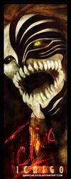 BLEACH--ICHIGO HOLLOW BOOKMARK by DarkChildx2k