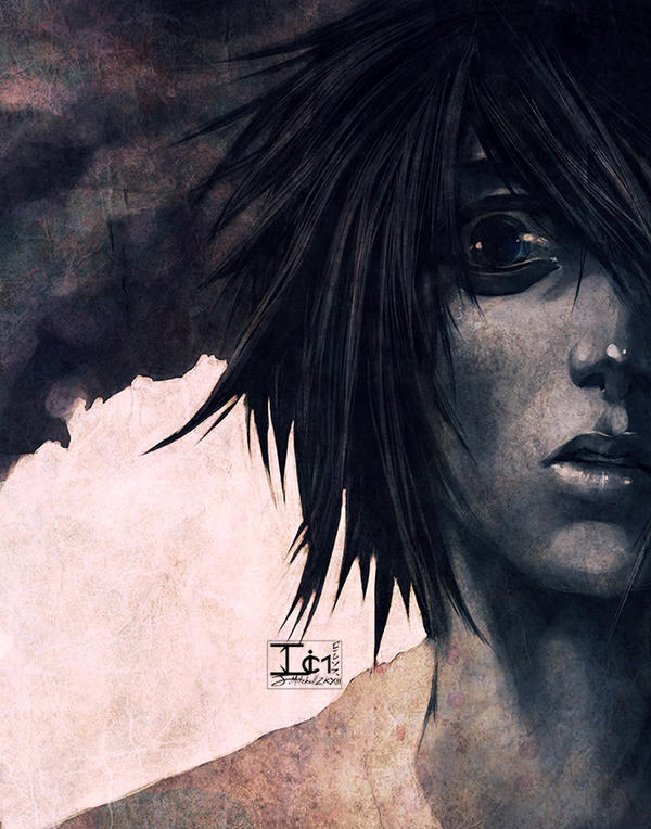 DEATHNOTE-- L SEES THROUGH YOU