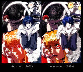 DEATHNOTE TELEOLOGY OF DEATH 2007-2019 COLORS
